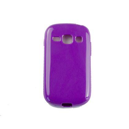 Capa Samsung Galaxy Fame Tpu Gel Roxo - Idea