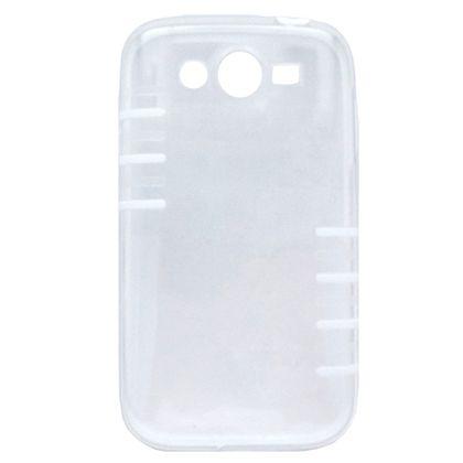 Capa Samsung Galaxy Grand Duos Pc Transparente com Branco - Idea