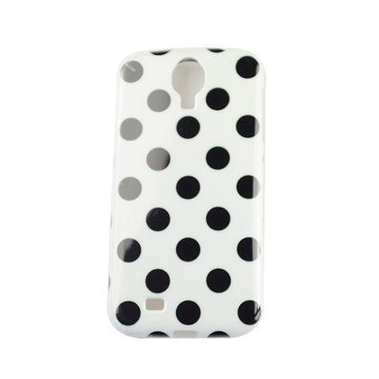 Capa Samsung Galaxy S4 Bolinha Branco/Preto - IDEA