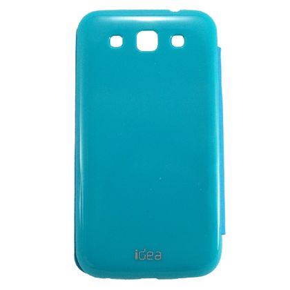 Capa Samsung Galaxy Win Duos Flip Azul Claro - Idea