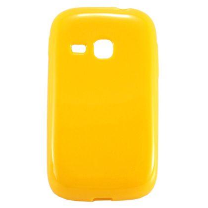 Capa Samsung Galaxy Young Duos Tpu Liso Amarelo - Idea