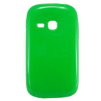 Capa Samsung Galaxy Young Duos Tpu Liso Verde - Idea