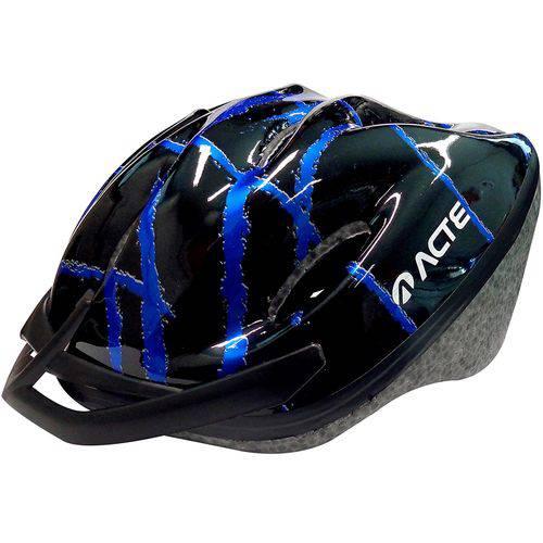 Capacete Adulto para Ciclismo Azul A51-az Acte
