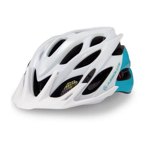 Capacete Ciclismo Absolute Feminino Mia C- Led e Regulagem Mtb Speed