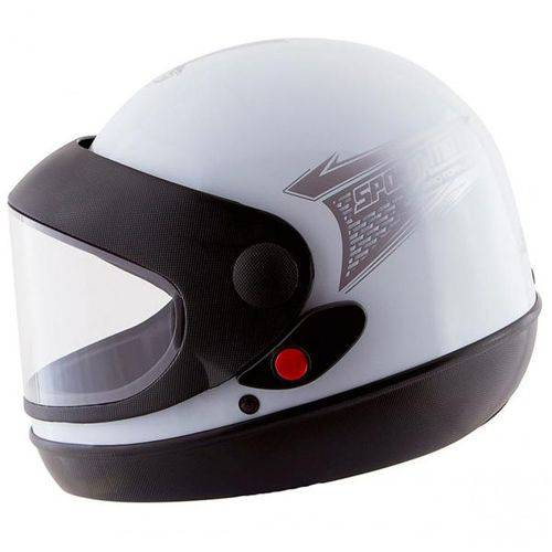 Capacete Moto Pro Tork Sport Tam. 58 Branco