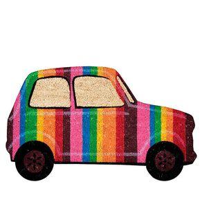 Capacho Carro Vintage Colorido
