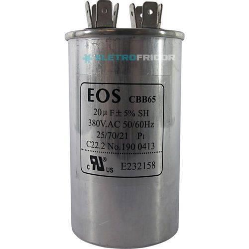 Capacitor 20 Mfd 380vac