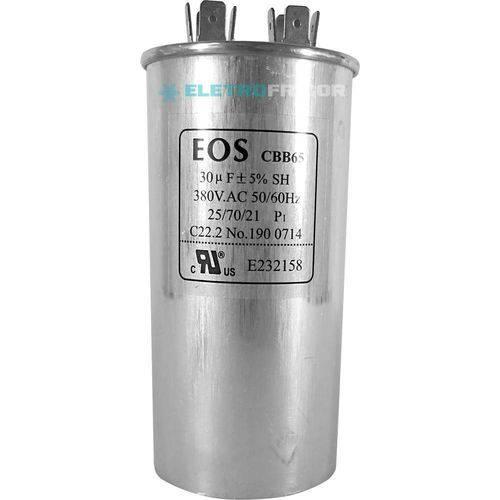 Capacitor 30 Mfd 380vac