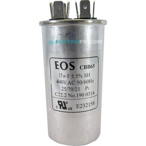 Capacitor 15 Mfd 440vac
