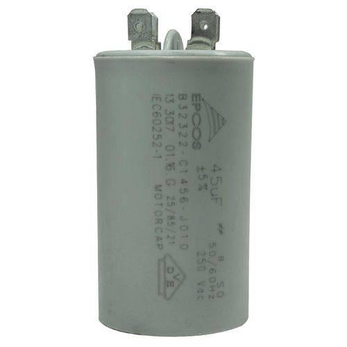 Capacitor 15 Mfd 250vac com Fio