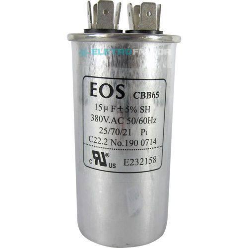 Capacitor 15 Mfd 380vac