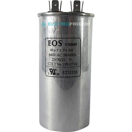 Capacitor 40 Mfd 440vac