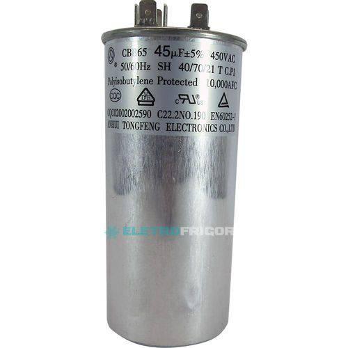 Capacitor 45 Mfd 450vac