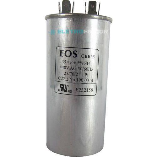 Capacitor 35 Mfd 440vac
