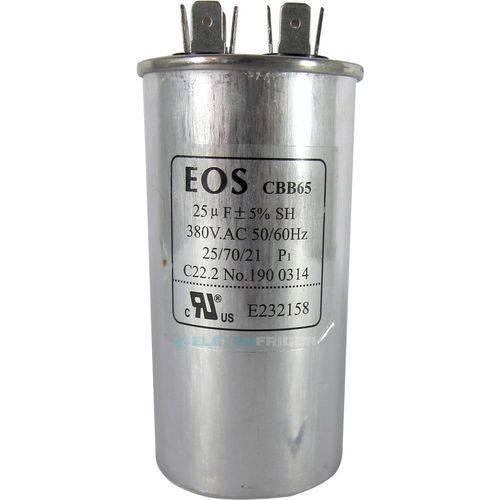 Capacitor 25 Mfd 380vac