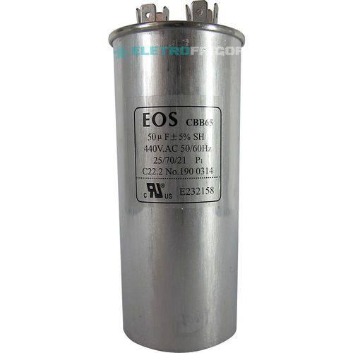 Capacitor 50 Mfd 440vac
