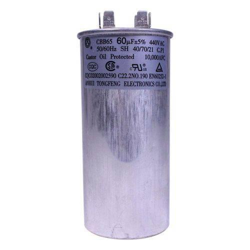 Capacitor 60 Mfd 440vac