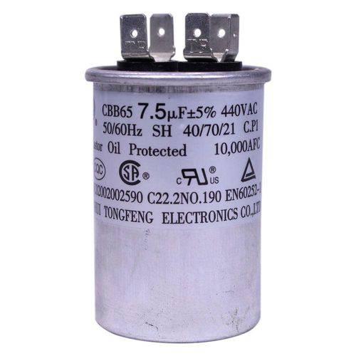Capacitor 7.5 Mfd 440 Vac