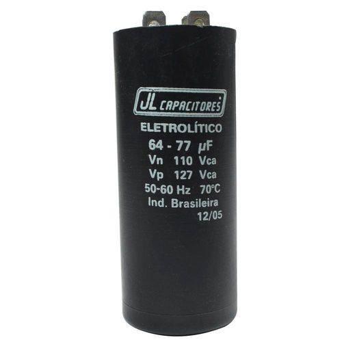 Capacitor de Partida 64x77 110vac