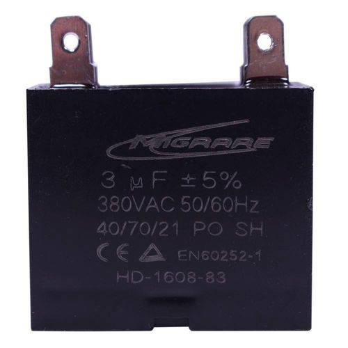 Capacitor 3 Mfd 380vac