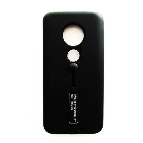 Capinha Anti Impacto Preto Motorola Moto G7 - G7 Plus Lançamento