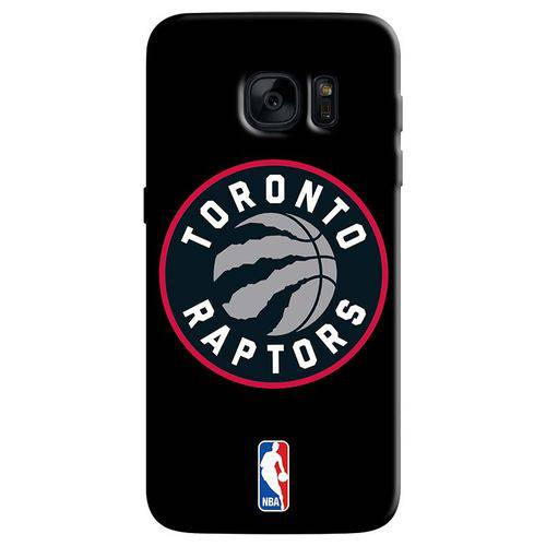 Capinha de Celular NBA - Samsung Galaxy S6 Edge - Toronto Raptors - NBAA31
