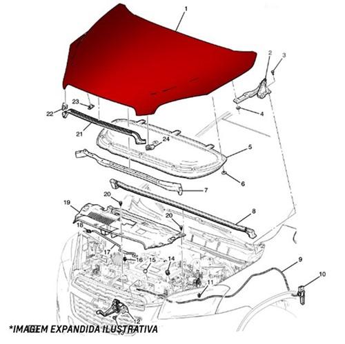 Capo do Motor 52060509 S10