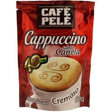 Cappuccino Canela Café Pelé 100g