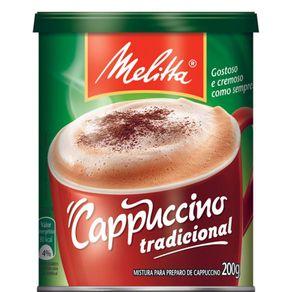Cappuccino Puccino Tradicional Melitta 200g