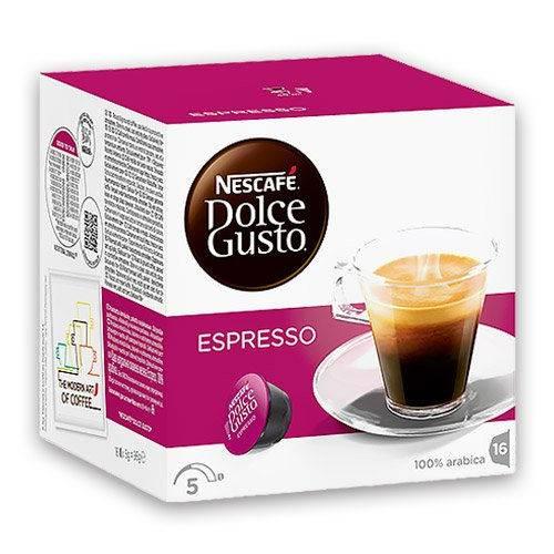 Capsula Cafe Espresso Dolce Gusto C/16 Unidades