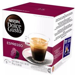 Cápsula de Café Espresso Dolce Gusto Nescafé 96g