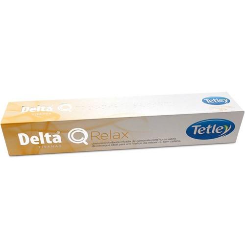 Cápsula de Chá Delta Q Relax - 10 Cápsulas