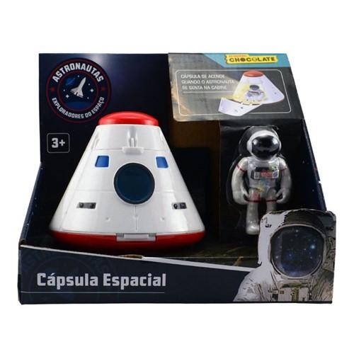 Cápsula Espacial - Linha Astronautas - Brinquedos Chocolate - FUN