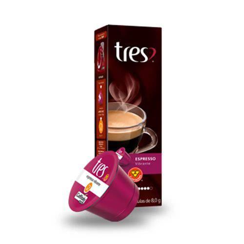 Cápsulas 3 Corações - Espresso Vibrante 10 X 8,0g