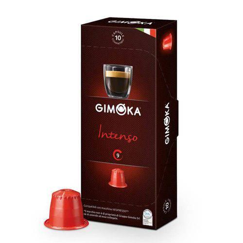 Cápsulas de Café Compatíveis com Nespresso Espresso Gimoka Intenso - 10 Un.