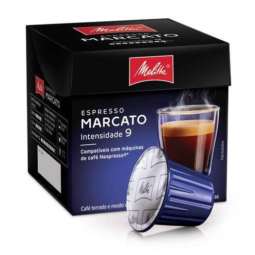Cápsulas de Café Espresso Melitta Marcato - Compatíveis com Nespresso® - 10 Un.