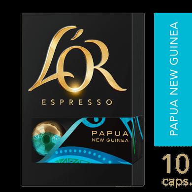 Cápsulas de Café L'or Papua 10 Unidades
