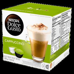 Cápsulas de Café Nescafé Dolce Gusto Cappuccino 200g (8x25g)