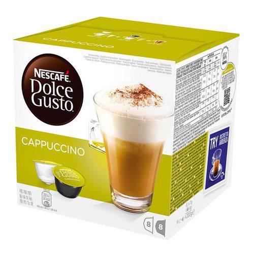 Cápsulas de Café Nescafé Dolce Gusto Cappuccino 200g