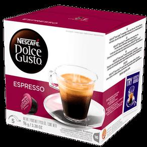 Cápsulas de Café Nescafé Dolce Gusto Espresso 96g (16x6g)