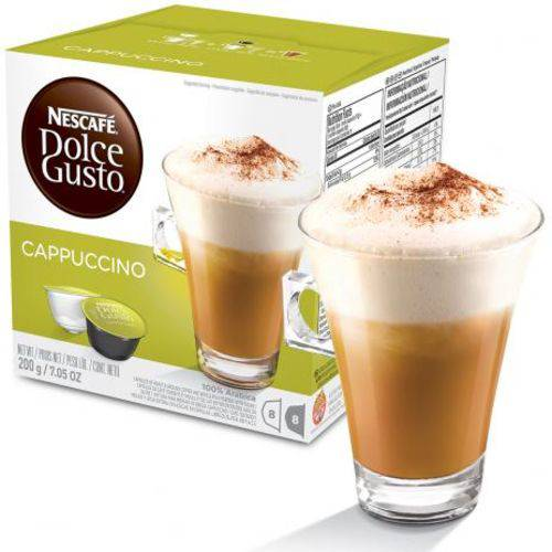 Capsulas Nescafé Dolce Gusto Cappuccino – 16 Cápsulas - Nestle
