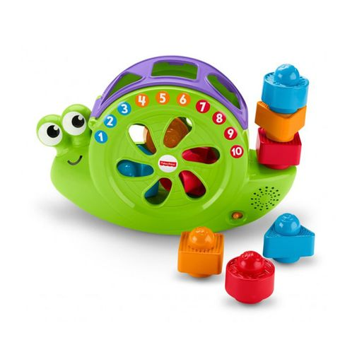 Caracol Animado Formas e Números - Fisher Price