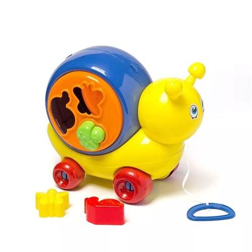 Caracol Infantil Menino Play Time Cotiplás Amarelo