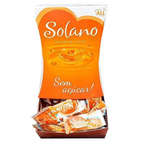 Caramelos Sem Açúcar Sabor Doce de Leite 240g - All