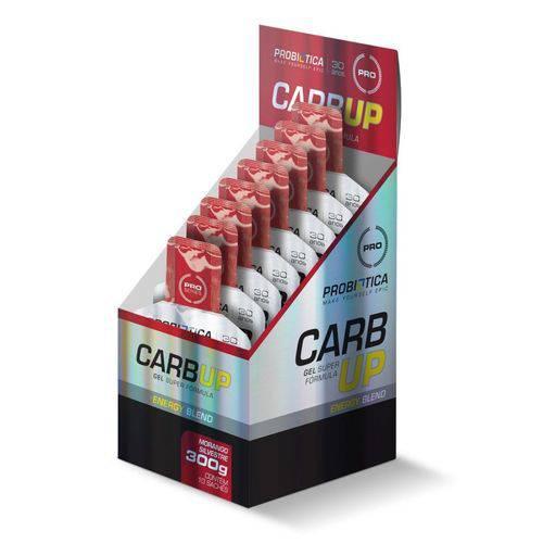 Carb Up Gel Energético Blend Morango Silvestre Sache 30g Probiótica