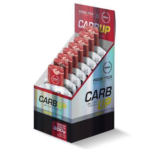 Carb-Up Gel Super Formula 10 Sachês Morango Silvestre - Probiótica