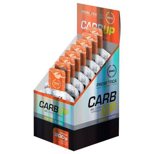 Carb-up Gel Super Fórmula - Probiótica - Sabor Laranja