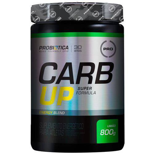 Carb-up Super Fórmula - 800 Gramas - Probiótica