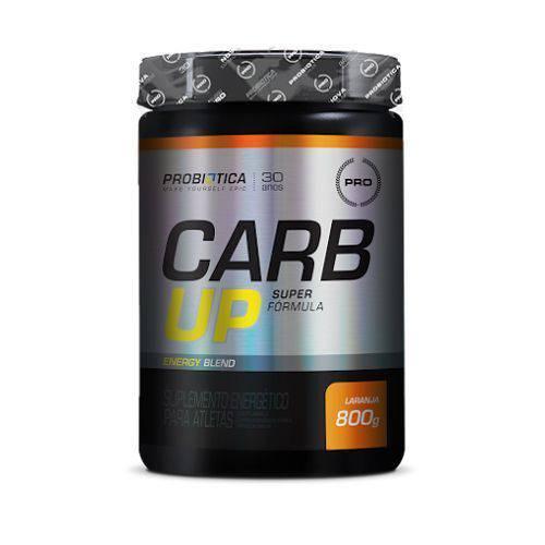 Carb Up Super Fórmula - Laranja 800g - Probiótica