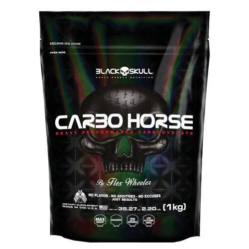 Carbo Horse Refil (1kg) - Black Skull
